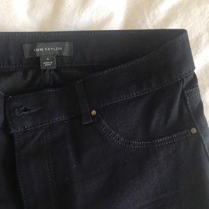 Ann Taylor dark wash skinny jeans